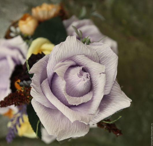 Букеты ручной работы. Ярмарка Мастеров - ручная работа. Купить Чайные розы.......букет из конфет в чашке. Handmade. Комбинированный