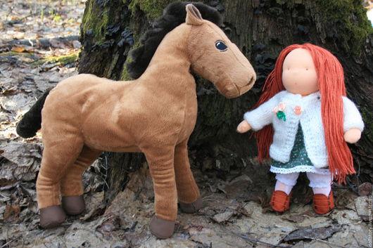Вальдорфская игрушка ручной работы. Ярмарка Мастеров - ручная работа. Купить Вальдорфская кукла Ягодка-скромная мечтательница. Handmade. Рыжий