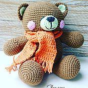 Куклы и игрушки ручной работы. Ярмарка Мастеров - ручная работа Мишутка пухляш. Handmade.