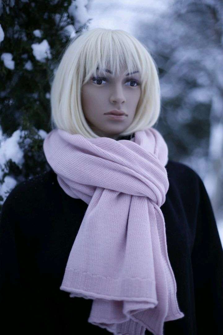 Sakura stole scarf made of 100% combed cashmere, Wraps, St. Petersburg,  Фото №1