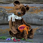 Куклы и игрушки handmade. Livemaster - original item Teddy bear Soviet (pattern 50-70 years) with a roar. Handmade.