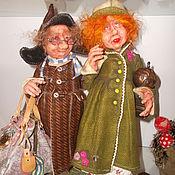 Куклы и игрушки ручной работы. Ярмарка Мастеров - ручная работа Сладкая парочка.(эльфы-коротышки). Handmade.