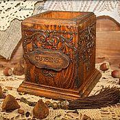 """Для дома и интерьера ручной работы. Ярмарка Мастеров - ручная работа Подставка для приборов """"Сuisine"""". Handmade."""