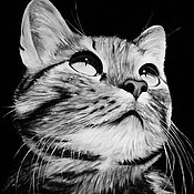 Картины и панно ручной работы. Ярмарка Мастеров - ручная работа В гордом молчании (30 х 40 см). Handmade.