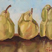 """Картины и панно ручной работы. Ярмарка Мастеров - ручная работа масло """"Три грации"""". Handmade."""