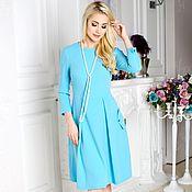 Dresses handmade. Livemaster - original item A dress for every day dress summer Elegance. Handmade.