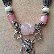 Украшения handmade. Livemaster - original item Necklace ethnic beads made from natural stones Turkish Delight.. Handmade.