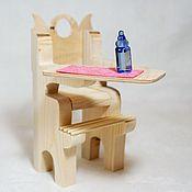 handmade. Livemaster - original item High chair for dolls. Handmade.