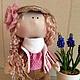 Человечки ручной работы. Ярмарка Мастеров - ручная работа. Купить Кукла Катя. Handmade. Кукла ручной работы, разноцветный, текстиль