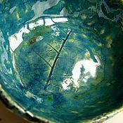 """Посуда ручной работы. Ярмарка Мастеров - ручная работа Пиала """"Волшебство леса"""". Handmade."""