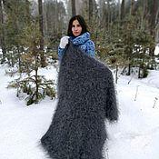 Аксессуары handmade. Livemaster - original item Down shawl-blanket