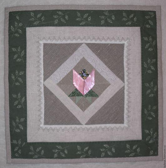 Текстиль, ковры ручной работы. Ярмарка Мастеров - ручная работа. Купить Наволочка на диванную подушку. Handmade. Серый, подушка декоративная