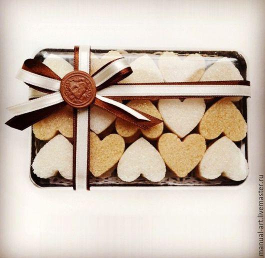 Подарки для влюбленных ручной работы. Ярмарка Мастеров - ручная работа. Купить Набор сахарка. Handmade. Коричневый, 14 февраля подарок