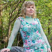 Одежда handmade. Livemaster - original item Lace suit