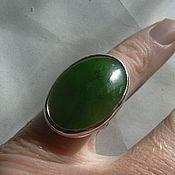Украшения handmade. Livemaster - original item elegant jade ring925 sterling silver.. Handmade.