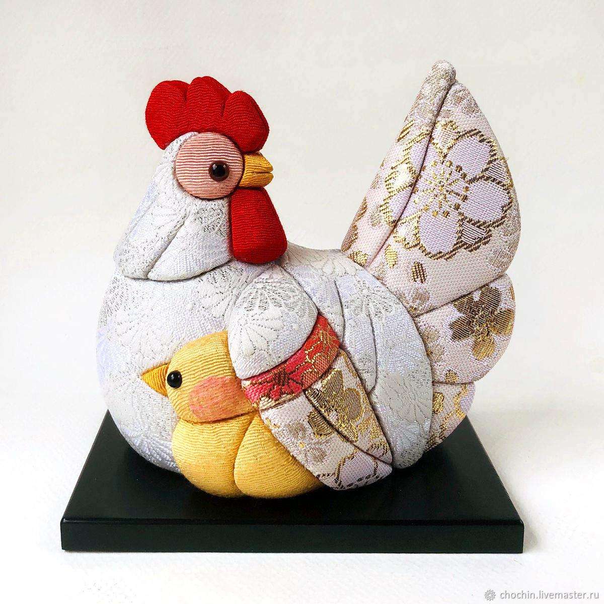 Курочка Кику с цыпленком - коллекционная кукла кимекоми kimekomi doll, Куклы и пупсы, Москва,  Фото №1