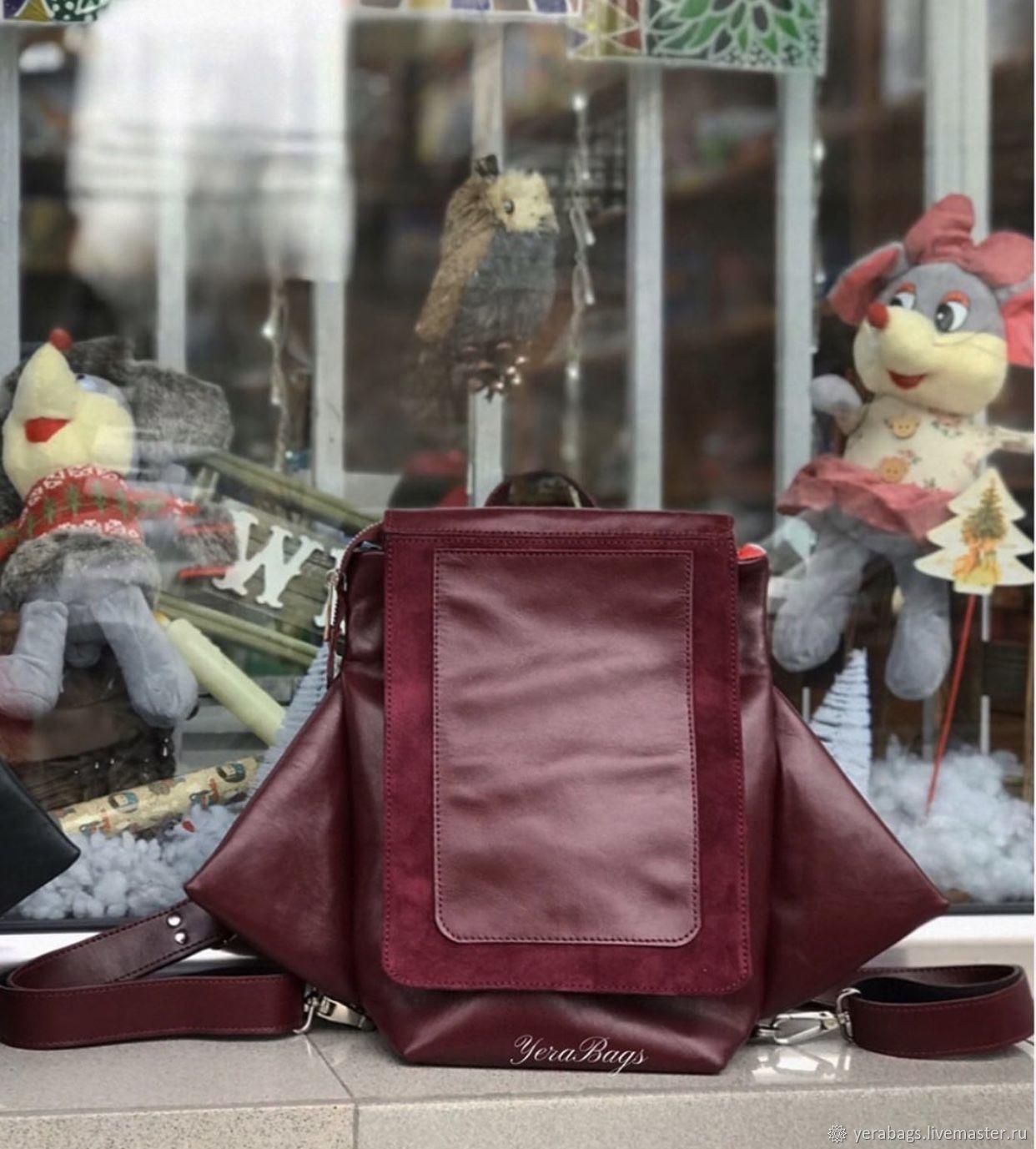 Бордовый рюкзак, Рюкзаки, Ереван,  Фото №1