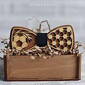 Галстуки ручной работы. Ярмарка Мастеров - ручная работа Галстук-бабочка деревянная. Handmade.