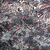 Материалы для творчества ручной работы. Ярмарка Мастеров - ручная работа Плащевка шоколадного цвета. Handmade.