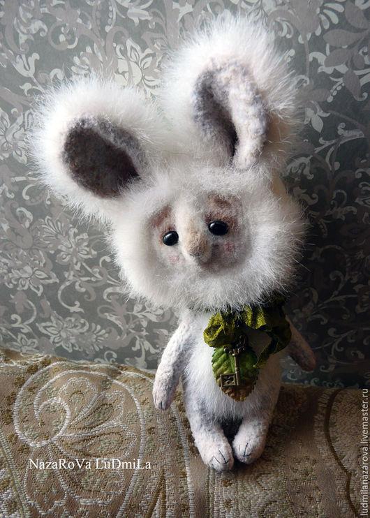 Мишки Тедди ручной работы. Ярмарка Мастеров - ручная работа. Купить Белый Зай.. Handmade. Белый, игрушка в подарок