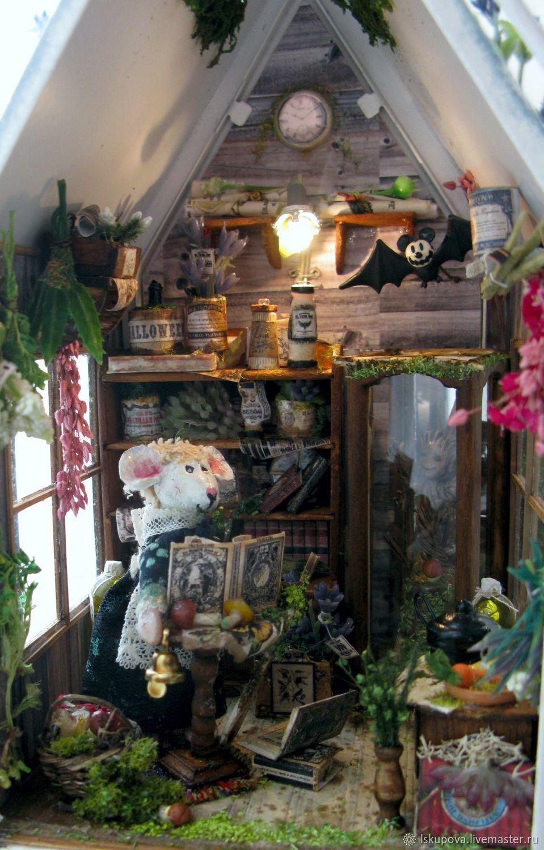 Фонарик-домик для мышки-знахарки, Кукольные домики, Москва, Фото №1