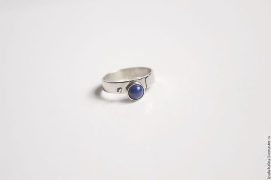 """Кольца ручной работы. Ярмарка Мастеров - ручная работа. Купить Кольцо с лазуритом """"Меритамон"""". Handmade. Синий, кольцо с лазуритом, подарок"""