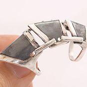 Украшения handmade. Livemaster - original item Hinged segment ring. Handmade.