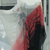 Одежда handmade. Livemaster - original item Batik serape manta de
