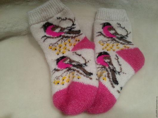 Носки, гольфы, гетры ручной работы. Ярмарка Мастеров - ручная работа. Купить Детские шерстяные носки.Овечья шерсть. Handmade.