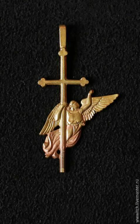Ангел-хранитель, Санкт-Петербург, Петропавловская крепость, символ, сувенир, подвеска, брелок, латунь, ручная работа, подарок