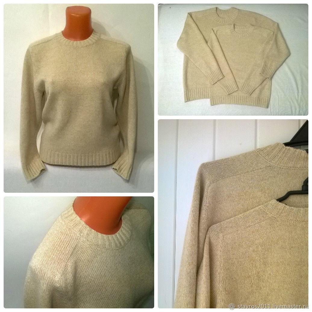 старших пошив теплого пуловера мк с фото пары