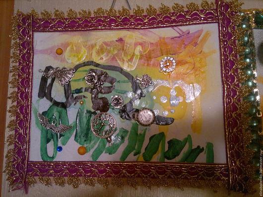 """Абстракция ручной работы. Ярмарка Мастеров - ручная работа. Купить Картина """"Волшебный ветер"""". Handmade. Картина, пано, абстракция"""