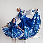 Русский стиль handmade. Livemaster - original item Dance costume-Sundress