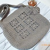 Сумки и аксессуары handmade. Livemaster - original item Crochet handbag for every day.. Handmade.