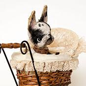 Куклы и игрушки handmade. Livemaster - original item French bulldog Jasper. Handmade.