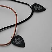 """Украшения ручной работы. Ярмарка Мастеров - ручная работа Медиатор """"Rock Style"""". Handmade."""