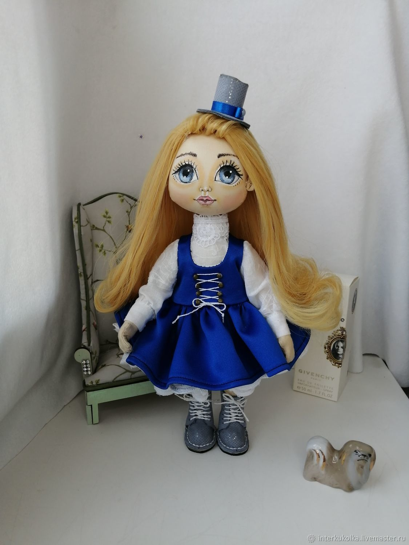 Интерьерная кукла в викторианском стиле, Интерьерная кукла, Саратов,  Фото №1