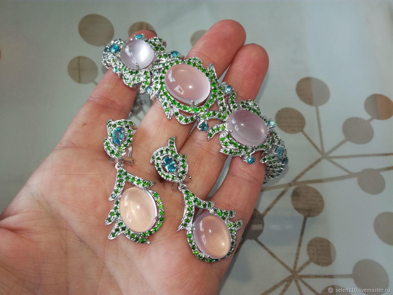 Jewelry kit Marie Antoinette bracelet and earrings, Jewelry Sets, Voronezh,  Фото №1
