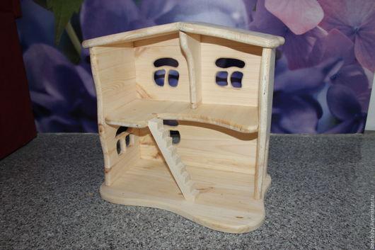Кукольный дом ручной работы. Ярмарка Мастеров - ручная работа. Купить Кукольный домик. Handmade. Кукольный домик, игрушка для детей