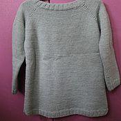 """Одежда ручной работы. Ярмарка Мастеров - ручная работа Детский свитер """"Лёд"""". Handmade."""