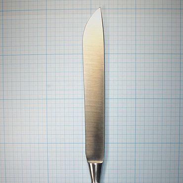 Материалы для творчества ручной работы. Ярмарка Мастеров - ручная работа Нож ампутационный большой 315 мм (с широким лезвием). Handmade.