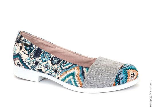Обувь ручной работы. Ярмарка Мастеров - ручная работа. Купить Туфли 18-102-Р3 (ВБ). Handmade. Удобная обувь