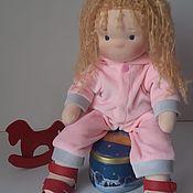 Вальдорфские куклы и звери ручной работы. Ярмарка Мастеров - ручная работа Текстильная кукла по вальдорфской технологии. Handmade.
