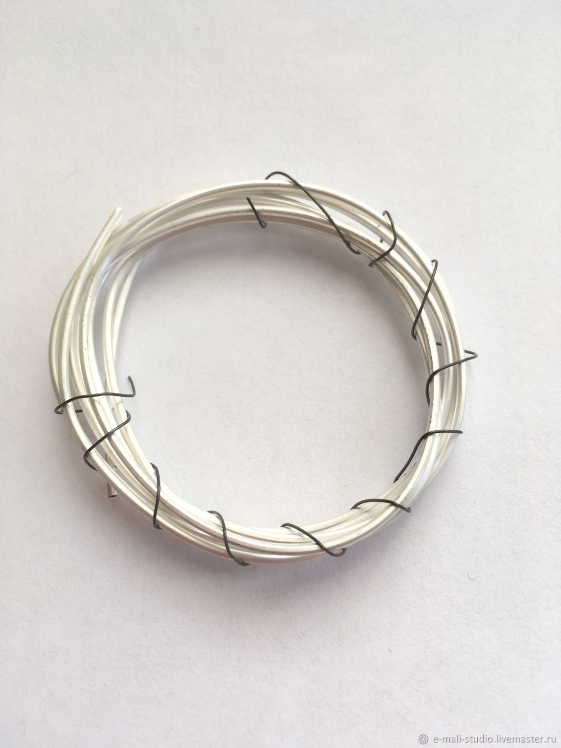 Wire circular cross section 1,2 mm 925 sterling silver, Wire, St. Petersburg,  Фото №1