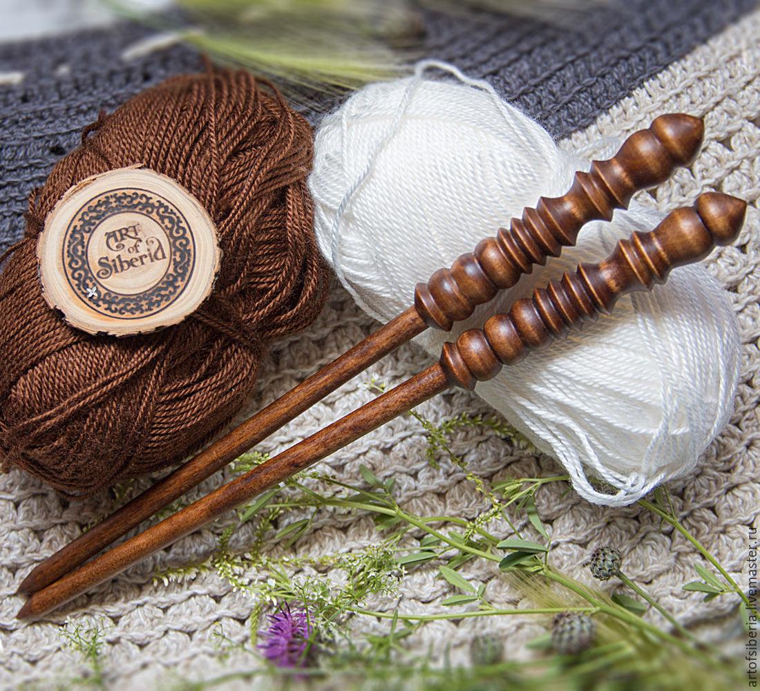 Wooden knitting needles 9mm/305#2, Knitting Needles, Novokuznetsk,  Фото №1