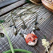 Украшения handmade. Livemaster - original item Fox pendant (pendant Fox jewelry Fox, a gift from a Fox). Handmade.
