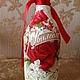 Подарочное оформление бутылок ручной работы. Ярмарка Мастеров - ручная работа. Купить Декорирование Бутылки. Handmade. Разноцветный, рельефная паста