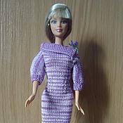 Куклы и игрушки ручной работы. Ярмарка Мастеров - ручная работа платье с воротником. Handmade.