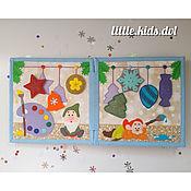 Куклы и игрушки handmade. Livemaster - original item HIT! Christmas educational book - the best gift! The book felt. Handmade.