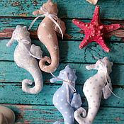 Куклы и игрушки ручной работы. Ярмарка Мастеров - ручная работа Тильда Морской Конек. Handmade.